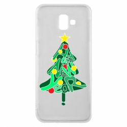 Чохол для Samsung J6 Plus 2018 Happy new year on the tree