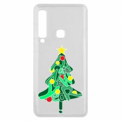 Чохол для Samsung A9 2018 Happy new year on the tree