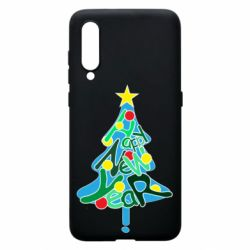 Чохол для Xiaomi Mi9 Happy new year on the tree