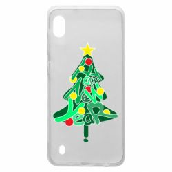 Чохол для Samsung A10 Happy new year on the tree