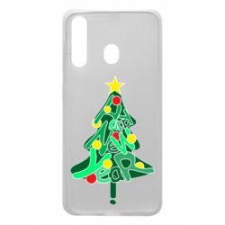Чохол для Samsung A60 Happy new year on the tree