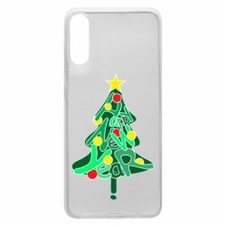 Чохол для Samsung A70 Happy new year on the tree