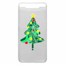 Чохол для Samsung A80 Happy new year on the tree