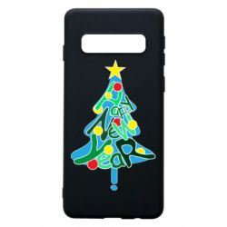 Чохол для Samsung S10 Happy new year on the tree