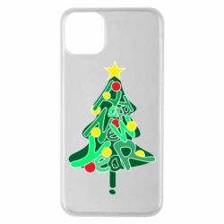 Чохол для iPhone 11 Pro Max Happy new year on the tree