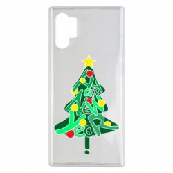 Чохол для Samsung Note 10 Plus Happy new year on the tree