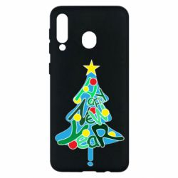 Чохол для Samsung M30 Happy new year on the tree