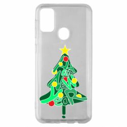 Чохол для Samsung M30s Happy new year on the tree