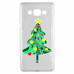 Чохол для Samsung A5 2015 Happy new year on the tree