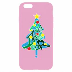 Чохол для iPhone 6 Plus/6S Plus Happy new year on the tree