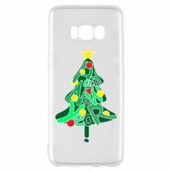 Чохол для Samsung S8 Happy new year on the tree