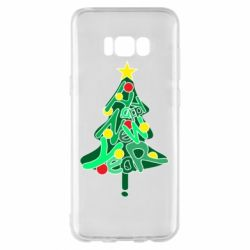 Чохол для Samsung S8+ Happy new year on the tree