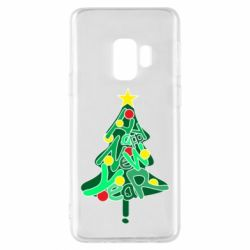 Чохол для Samsung S9 Happy new year on the tree