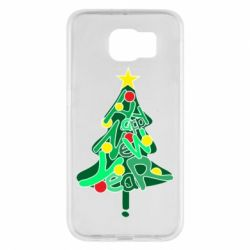 Чохол для Samsung S6 Happy new year on the tree
