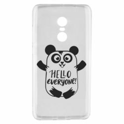 Чехол для Xiaomi Redmi Note 4 Happy panda