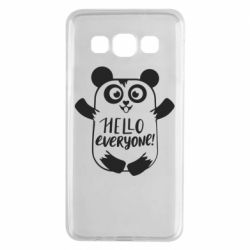Чехол для Samsung A3 2015 Happy panda