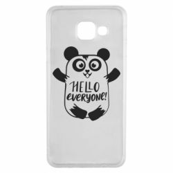 Чехол для Samsung A3 2016 Happy panda