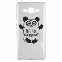 Чехол для Samsung A5 2015 Happy panda