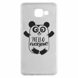 Чехол для Samsung A5 2016 Happy panda