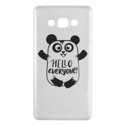 Чехол для Samsung A7 2015 Happy panda