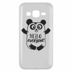 Чехол для Samsung J2 2015 Happy panda