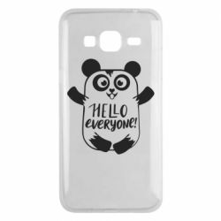 Чехол для Samsung J3 2016 Happy panda