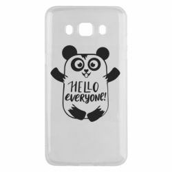 Чехол для Samsung J5 2016 Happy panda