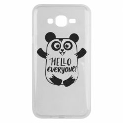 Чехол для Samsung J7 2015 Happy panda