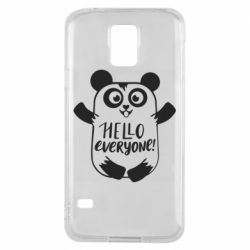 Чехол для Samsung S5 Happy panda