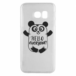 Чехол для Samsung S6 EDGE Happy panda