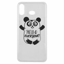 Чехол для Samsung A6s Happy panda