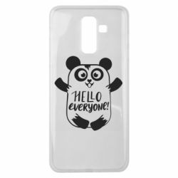 Чехол для Samsung J8 2018 Happy panda