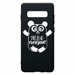 Чехол для Samsung S10+ Happy panda