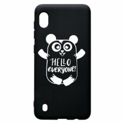 Чехол для Samsung A10 Happy panda