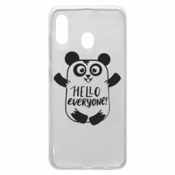 Чехол для Samsung A30 Happy panda