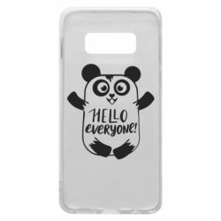 Чехол для Samsung S10e Happy panda