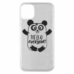 Чехол для iPhone 11 Pro Happy panda