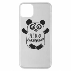Чехол для iPhone 11 Pro Max Happy panda