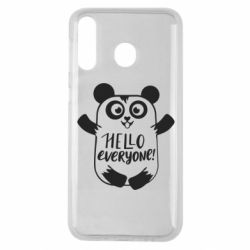 Чехол для Samsung M30 Happy panda