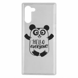 Чехол для Samsung Note 10 Happy panda