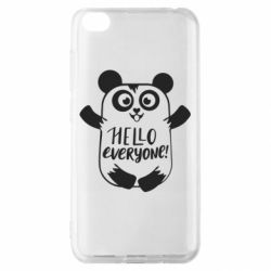 Чехол для Xiaomi Redmi Go Happy panda