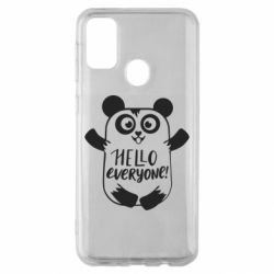 Чехол для Samsung M30s Happy panda