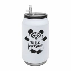 Термобанка 350ml Happy panda