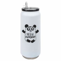 Термобанка 500ml Happy panda