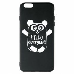 Чехол для iPhone 6 Plus/6S Plus Happy panda