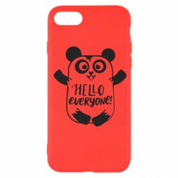 Чехол для iPhone 7 Happy panda