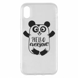 Чехол для iPhone X/Xs Happy panda