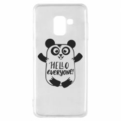 Чехол для Samsung A8 2018 Happy panda