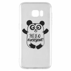Чехол для Samsung S7 EDGE Happy panda