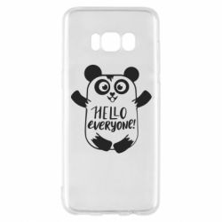 Чехол для Samsung S8 Happy panda